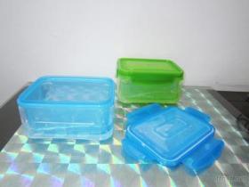 Contenitore di alimento doppio di plastica