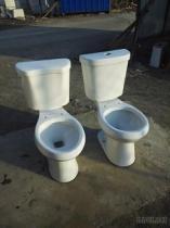 Het Tweedelige Toilet van Siphonic van de riem