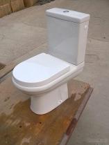 P-val Tweedelig Toilet
