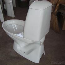 Bind het Toilet van het Stuk vast WashdownTwo