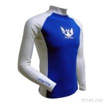 Barco Men'S KN0613 (PBT) Recycled Fabrics Long Sleeve Sports Rash Guard