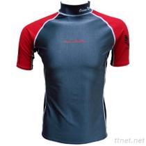 Barco Men'S KN0615 (PBT) Recycled Fabrics Short Sleeve Rash Guard