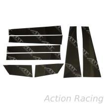 Action Racing, TOYOTA SIENNA  B C Pillars set Car Door & Windows Moldings