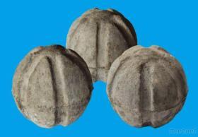 Bola refractaria del tapón de la escoria