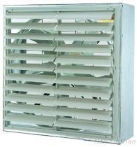 De Ventilator van de ventilatie met het Blind van pvc (de Aandrijving van de Riem)