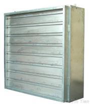 Ventilatore con l'otturatore di AL (azionamento diretto)