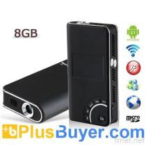 Android 2.1 Multi-Media Player Mini HD Projector