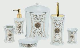 Morden Ceramic Bathroom Set 6PCS