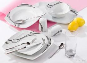 Stylish Porcelain Dinner Combo Set