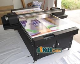 Geführter UVflachbettdrucker, die Epson Dx5 Schreibkopf benutzen