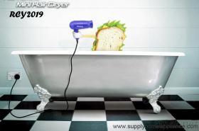 Förderung-Minispielraum-Haartrockner mit Kamm