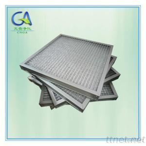 Aluminum, Stainless Steel Metal Mesh And Frame Panel Air Pre Filter