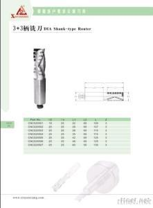 PCD Shank-Type Router