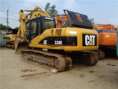 Secondhand Caterpillar 320D Excavator Made In Japan