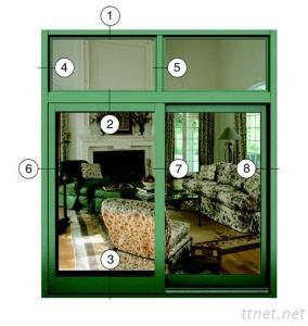Xingfa Sliding Aluminium Window Series