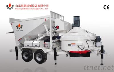 Weel Type Mobile Concrete Mixing Plant for Sale MB1200