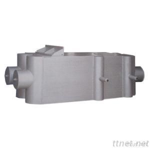 Aluminum Air Separating Condensator Evaporator Equipment