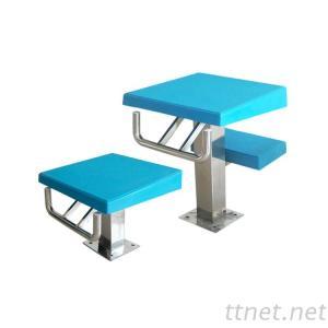 Stainless Steel 304 Swimming Pool Starting Block Jumping Platform Diving Board