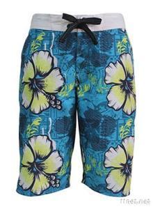 Man Colorful Swim Short, Beach Short, Board Short