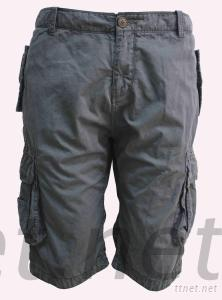 2012 New Style Men Canvas Short Dyeing Short Dyed Short