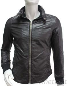 2012 Newest Winter Man PU Leather Jacket With Classic Style