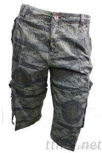 Mens Short Pants, 3/4 Pants