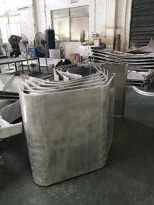 Aluminum Double Curved Solid Panel With Varied Style