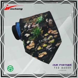 Digital Printed Fashion print poly tie