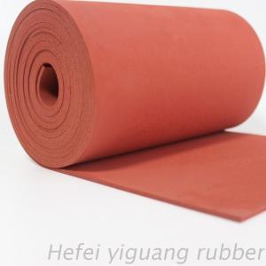 Heat resistance silicone foam sheet
