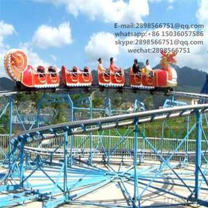 Park Amusement Rides Dragon Roller Coaster