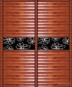 WPC Blind Sliding Doors