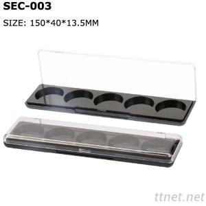 empty eyeshadow palette case plastic eyeshadow case packaging wholesale