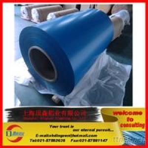 Thickness 0.022Mm-0.5Mm  Color Coated Aluminum Coil