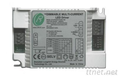 AC Push Button Dimmable LED Driver 24W