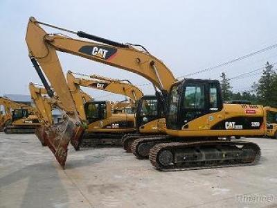 Used Original CAT 320D Crawler Excavator