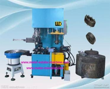 4 Stations Vertical Rotor Die Casting Machine
