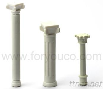 Railway Mould Train Layout Architectural Home Interior Design Materials Scale Mould Mold of Roman Pillar