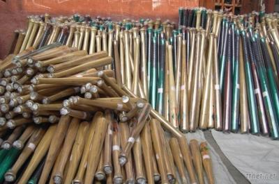 Rubber Wood Baseball Bats
