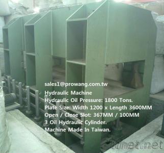Hydraulic Machine 1800 / 800 / 600 Tons