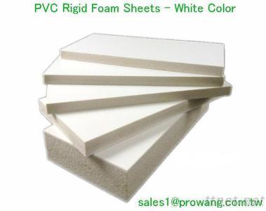 PVC Rigid Foam Sheet White Color