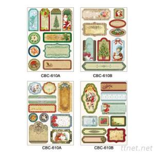 (2Mm) Chipboard Sticker Series