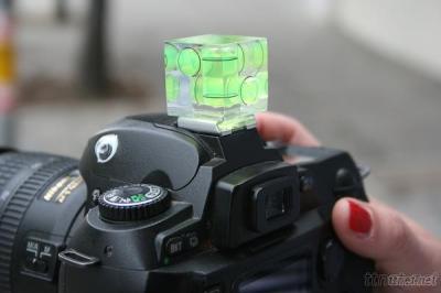 Triple 3 Axis Bubble Spirit Level On Camera