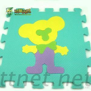 EVA Puzzle Mats, Kids Cartoon Puzzle Mats