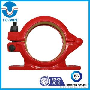 15 years factory top sell casting forged concrete pump bolt clamp with base