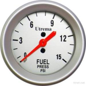 Utrema Mechanical Fuel Pressure Gauge 52Mm
