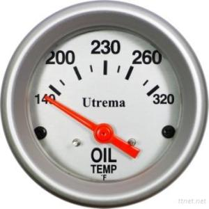 Utrema Auto Electrical Oil Temperature Gauge 52Mm