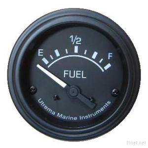 Utrema Black Marine Fuel Level Gauge