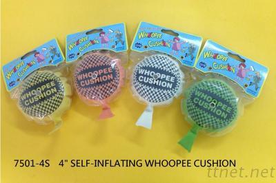 7501-4S  SELF-INFLATING WHOOPEE CUSHION