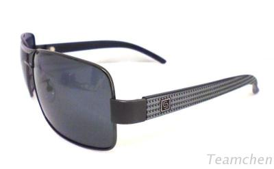SP3310-Metal Plastic Mixed Polarized Sunglasses