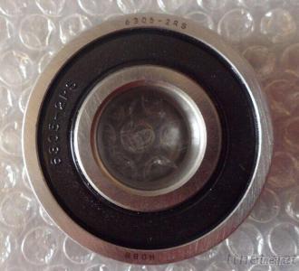 25MM Bore Single Row Deep Groove Sealed Ball Bearing 6305-2RS